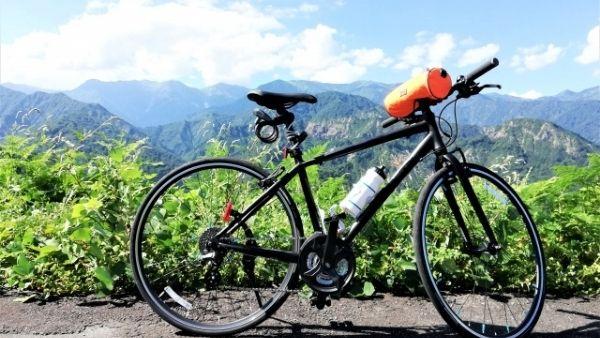 低身長女性のクロスバイク