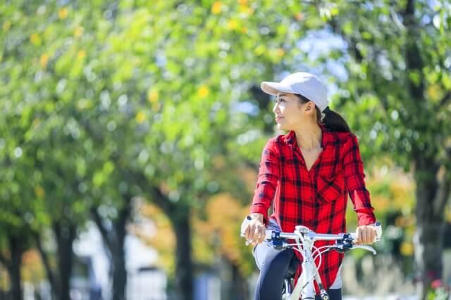 サイクリング痩せる